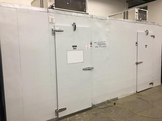 WALK IN FREEZER/COOLER COMBINATION BOX