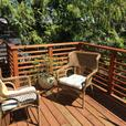 Modern 2 bedroom in Cordova Bay only one block from the sandy beach.