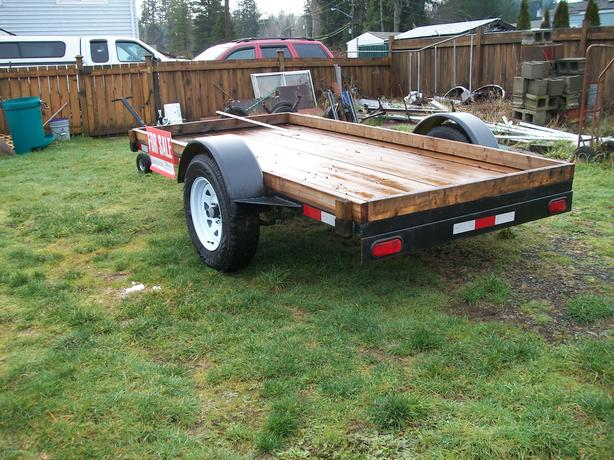5 x 10 flatdeck trailer
