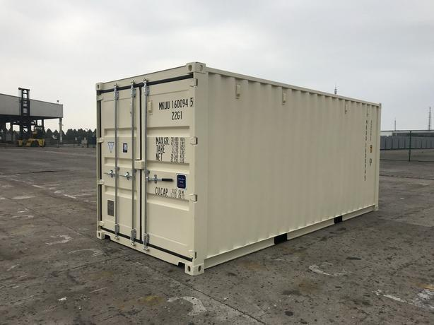 20' NEW One-Trip Shipping/Storage Containers - Seacans for SALE
