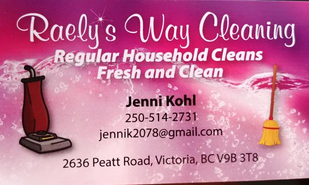 House Cleaning: Raely's Way Cleaning
