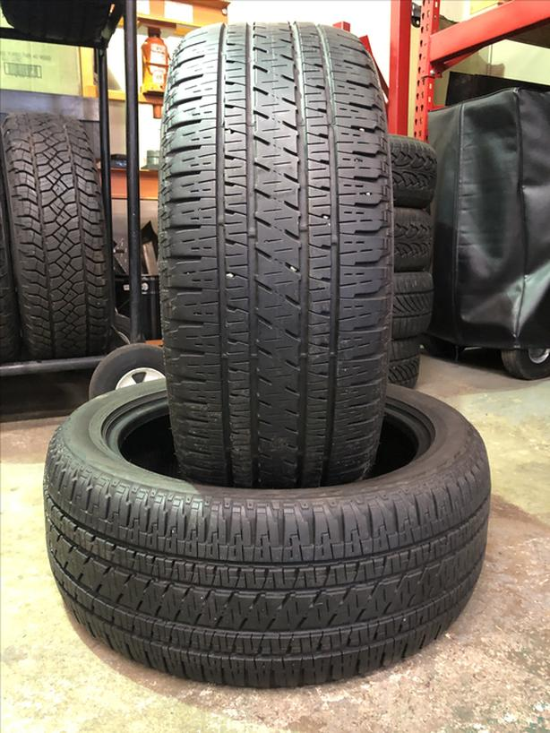 Pair of 235/50 R19 tires