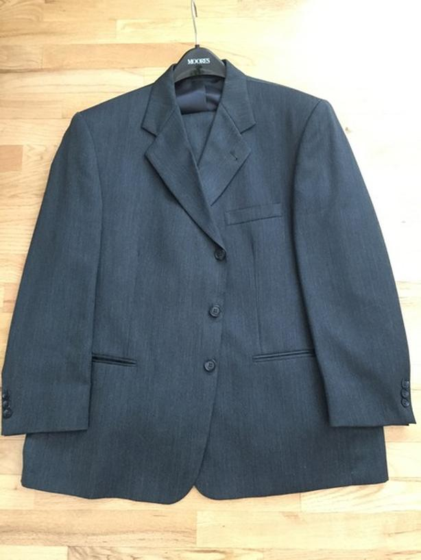 Men's Oscar de la Renta Suit, Bluish/Grey, Chest 42-44, - Offer