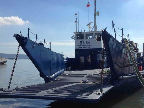 Landing Craft With 10 Ton Crane For Sale - 135' - Tilloo