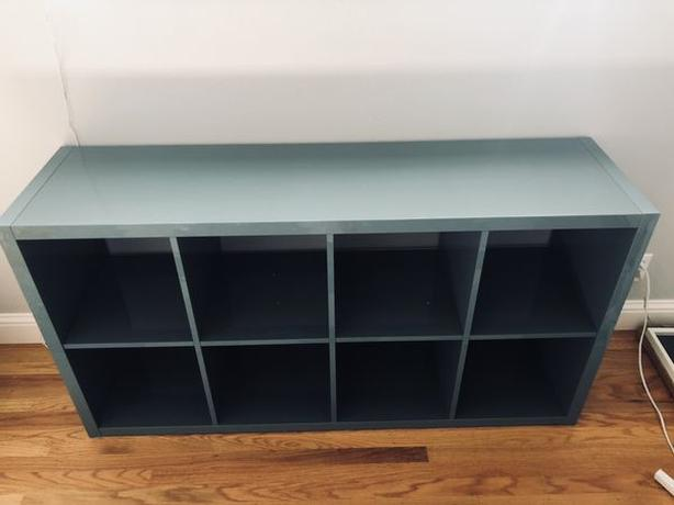 best service 51f36 aec87  Log In needed $1,234 · WANTED: Ikea Kallax Shelf in High Gloss  Grey-Turquoise