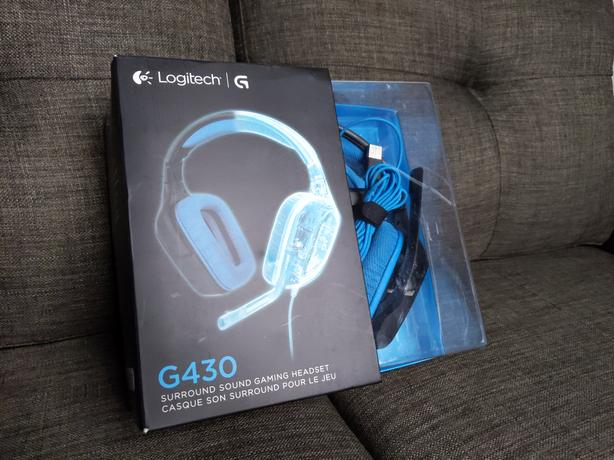 Logitech G430 Gaming Headset West Shore: Langford,Colwood