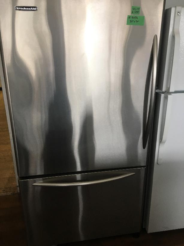 KitchenAid Bottom Freezer
