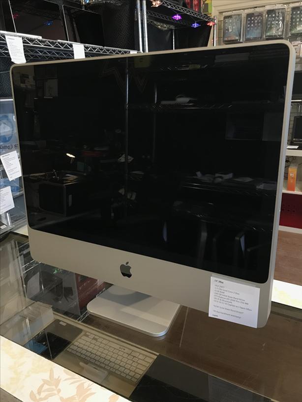 """SALE! 24"""" iMac 2.4 GHz C2D 4 GB RAM 240 GB SSD w/ Warranty!"""