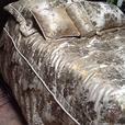 King size bedspread with pillows