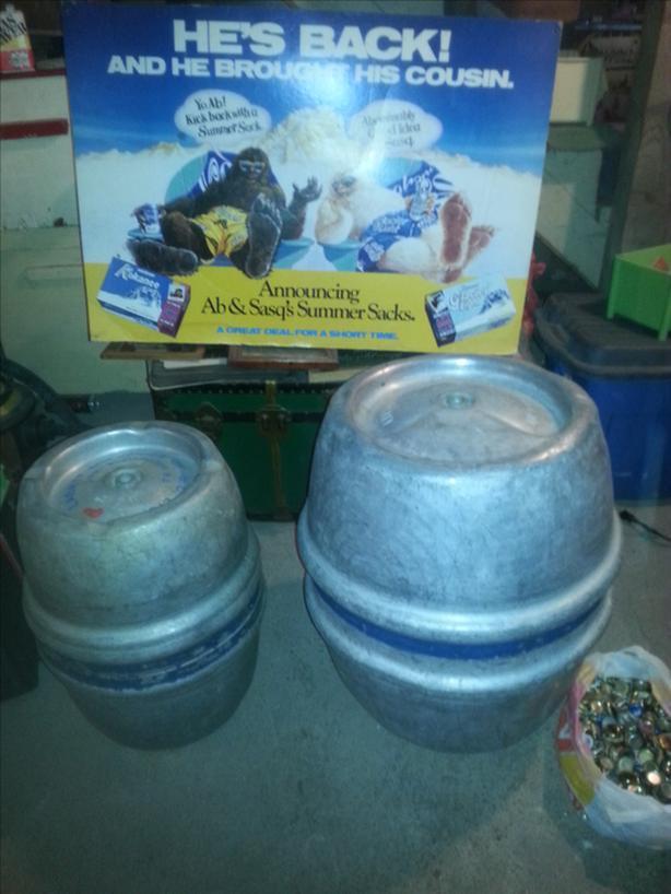 vintage kegs