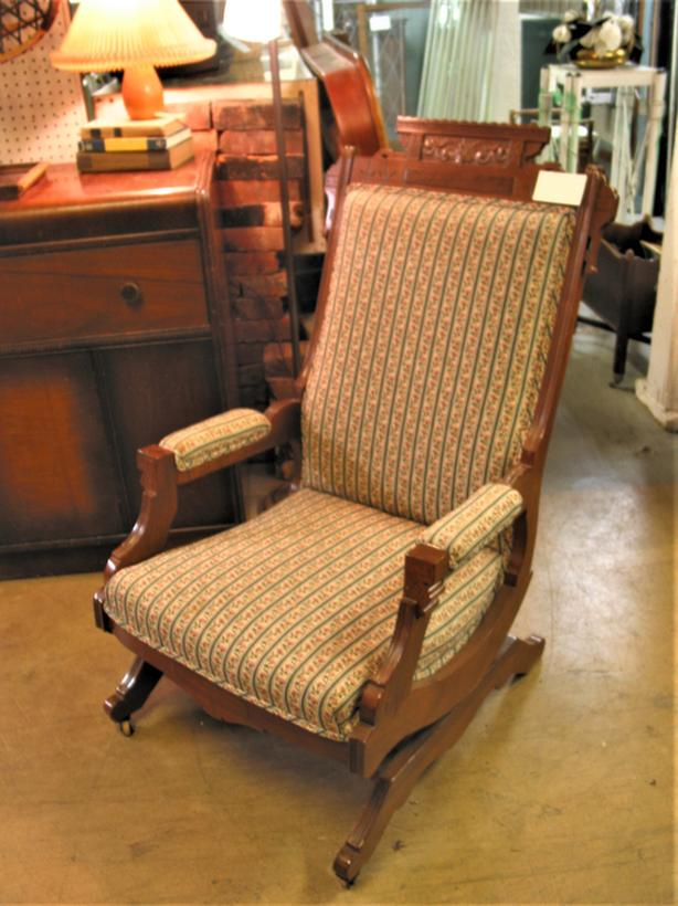 Antique Eastlake Rocker - RETIREMENT SALE