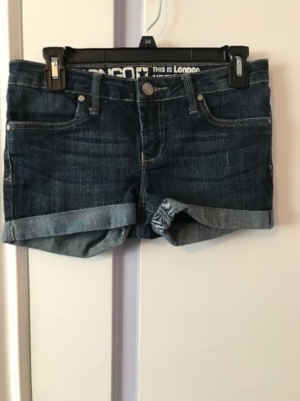 Ladies Jean Shorts