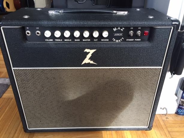 FOR-TRADE: DR Z Maz 18 Guitar Amp for 2013 Mac Pro cylinder