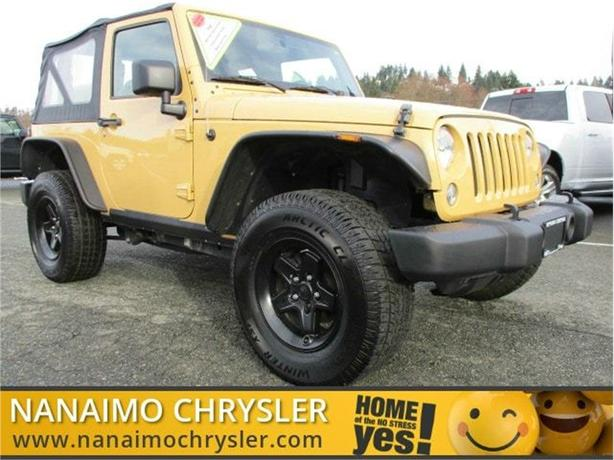 2014 Jeep Wrangler Sport No Accidents Low Kilometers