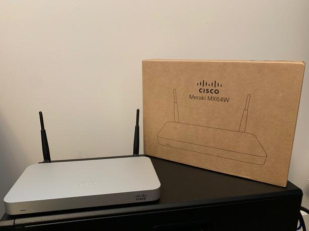  Log In needed $200 · Cisco Meraki MX64W Cloud Managed Firewall
