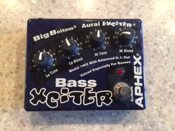 ***REDUCED - Aphex Xciter Big Bottom Bass Guitar Pedal For Sale
