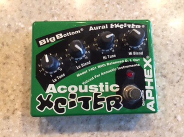 Aphex Xciter Big Bottom Acoustic Guitar Pedal For Sale