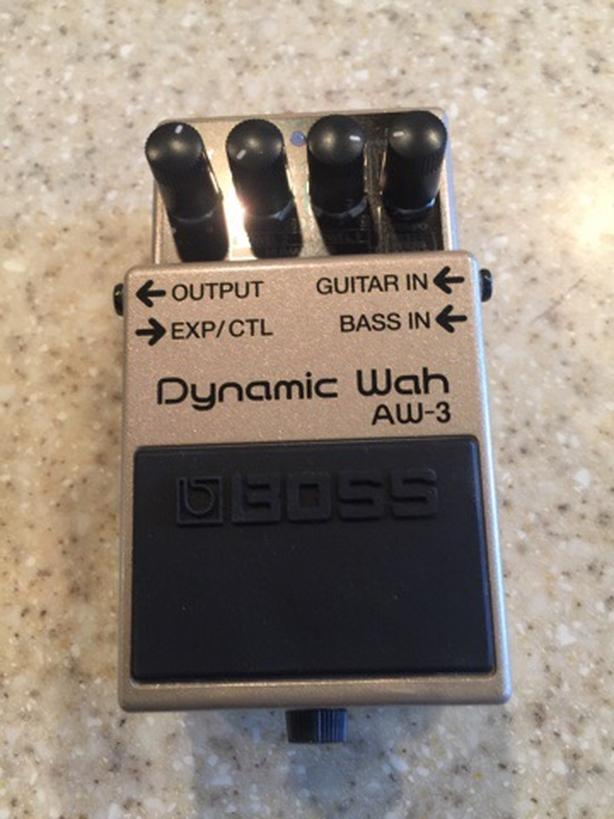 BOSS Dynamic Wah AW-3 Guitar Effects Pedal For Sale