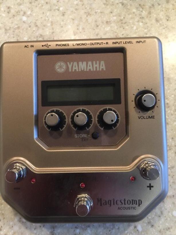 Yamaha Magicstomp Acoustic Petal For Sale