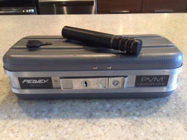 Two Peavey PVM 480 Small Diaphragm Condenser Microphones For Sale