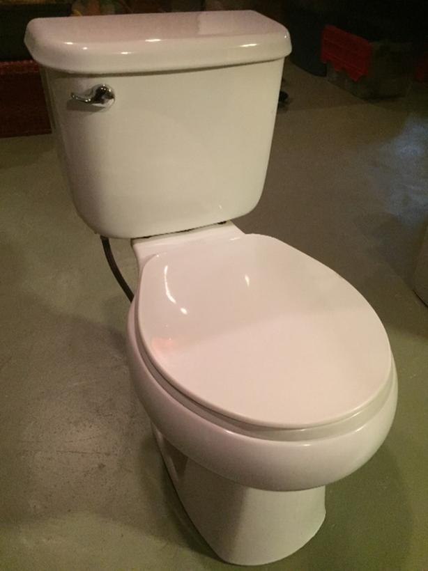 low fush, good conditon toilet