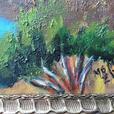 "Original Painting on Canvas ""Little Qualicum River"" by Maureen Greta Marshall"
