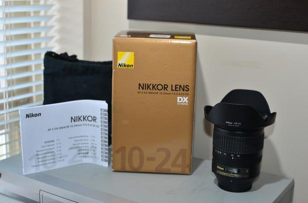 Nikon 10-24mm f/3.5-4.5G ED AF-S DX