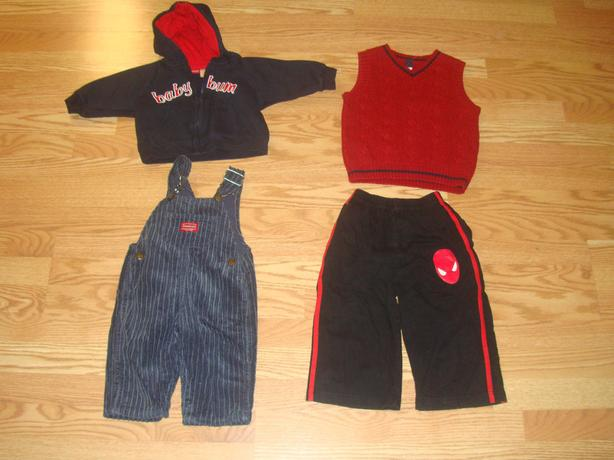 Lot of 4 Piece Boy Clothing Size 1-2 Years - $4 for all!