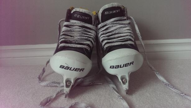 Bauer One80 goalie skates size 4.5 shoe size 5.5