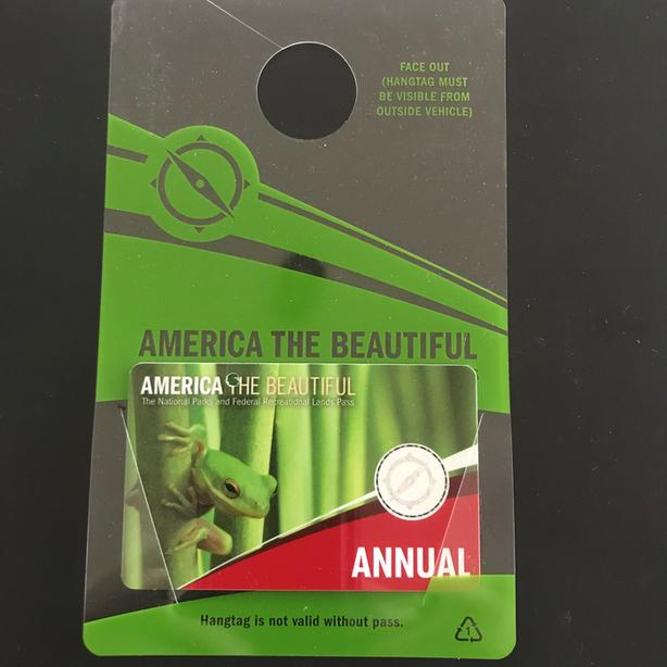 US National Park Pass/America the Beautiful Annual Pass