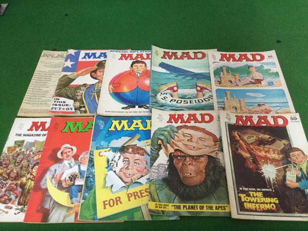 1970's Mad Magazines
