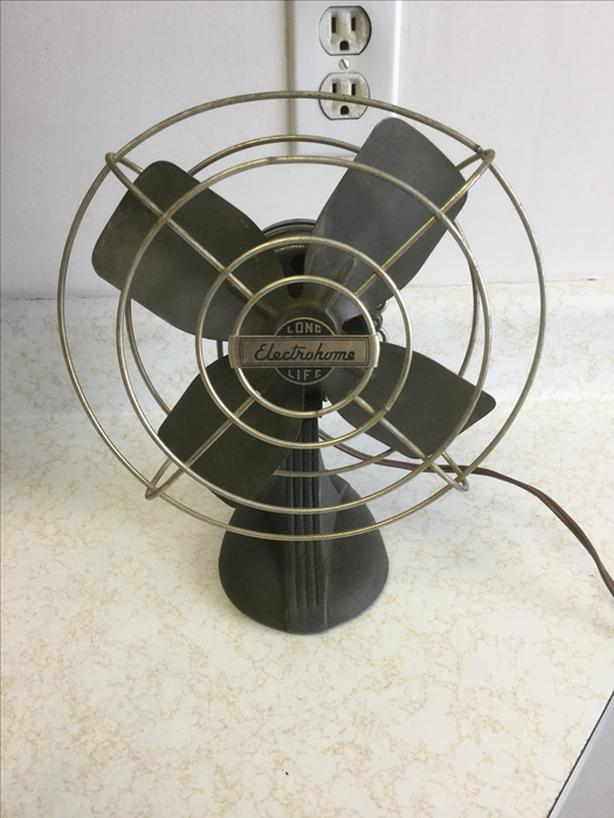 Vintage Electrohome Table Fan