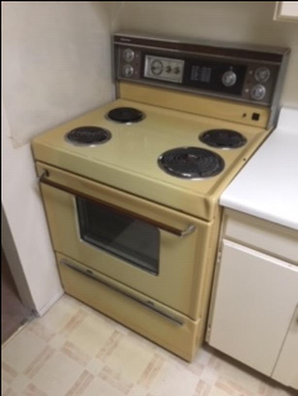 FREE:  Vintage stove