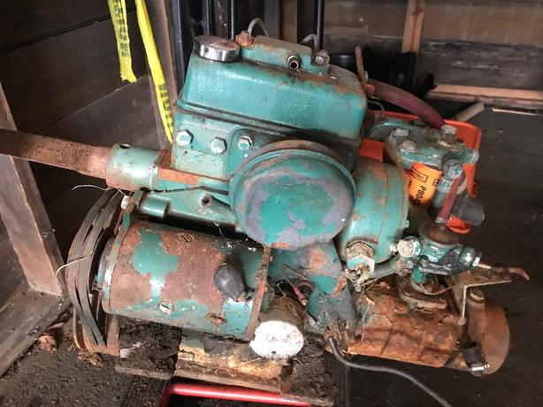 FOR TRADE: Volvo Penta 2 cylinder diesel