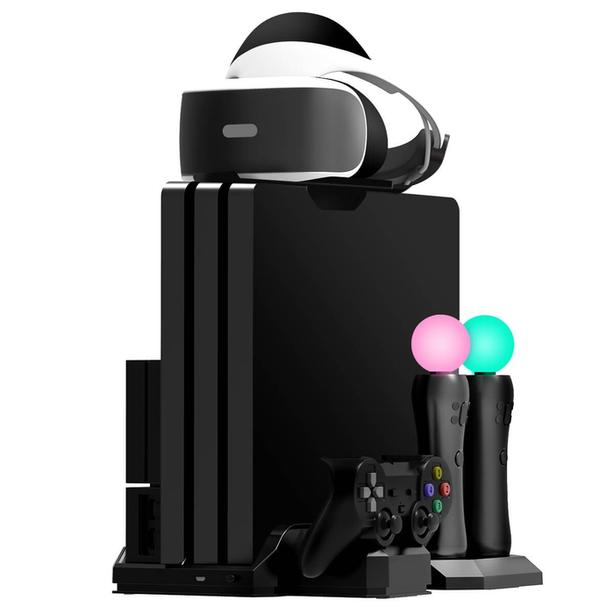 PlayStation 4 Pro with VR and games