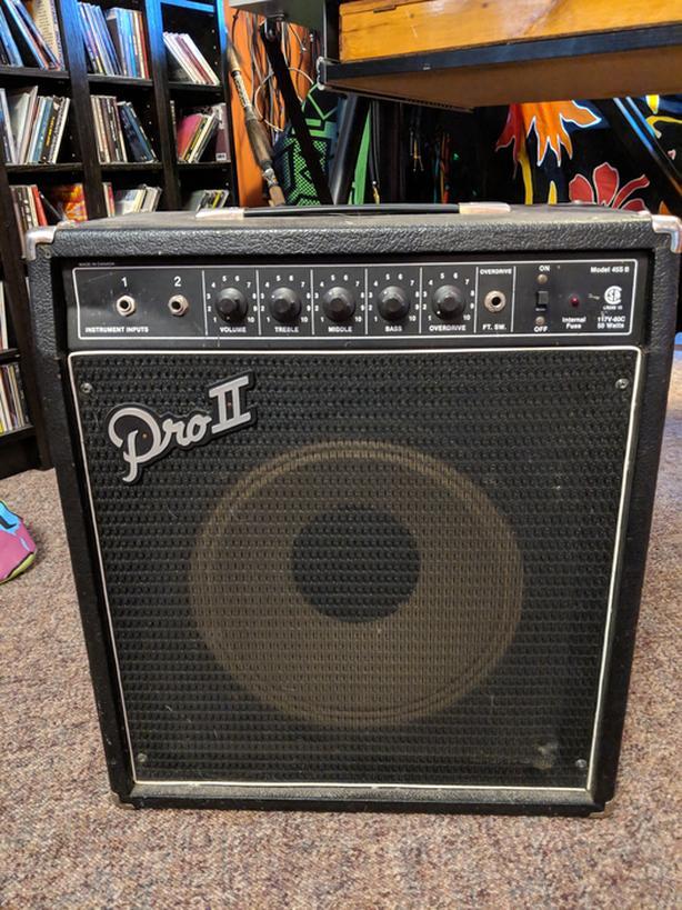 Garnett Pro II bass amp