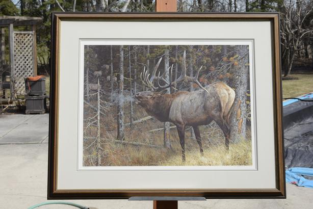 HUNTERS DREAM by Carl Brenders [Bull Elk]