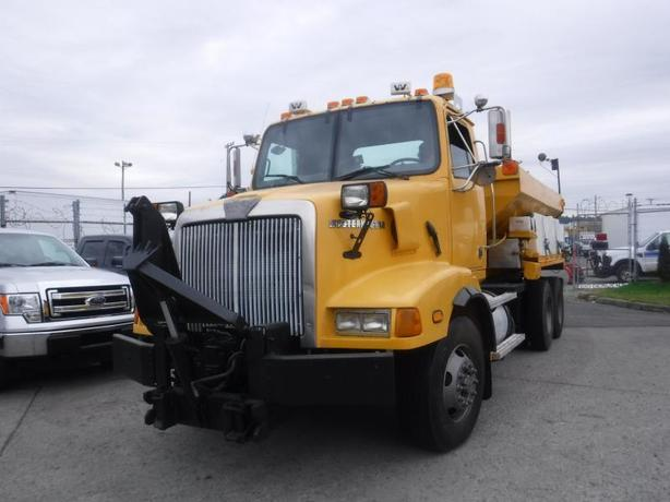2001 Western Star Trucks 5800 Dump Truck With Front Plow Blade And Salter Diesel