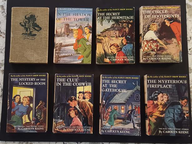 Lot of 22 DANA GIRLS MYSTERY STORIES - vintage 1960s