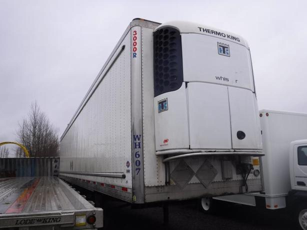 2012 Utility 3000R 53 Foot Triple Axel Trailer With Thermo King Reefer