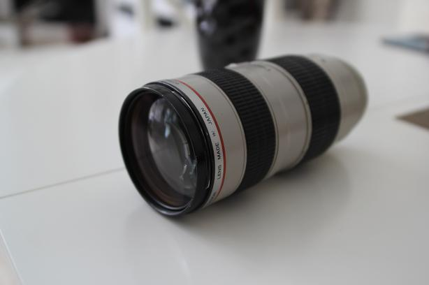 CANON 70-200mm f 2.8 L-SERIES