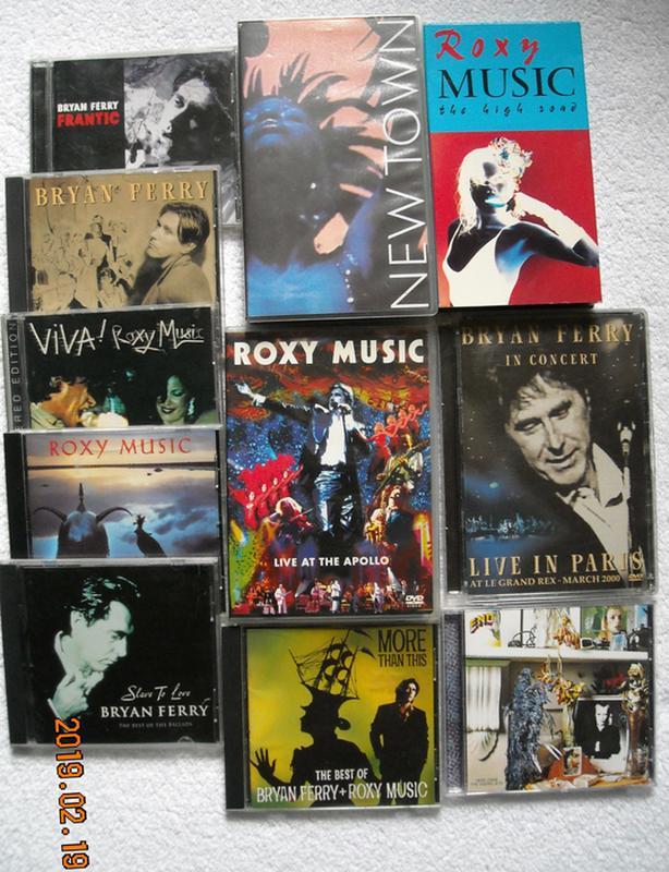 Roxy Music/Bryan Ferry/Eno