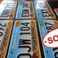North Dakota License Plates [Royal Oak]