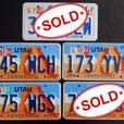 Utah License Plates - 1996 Centennial  [Royal Oak]