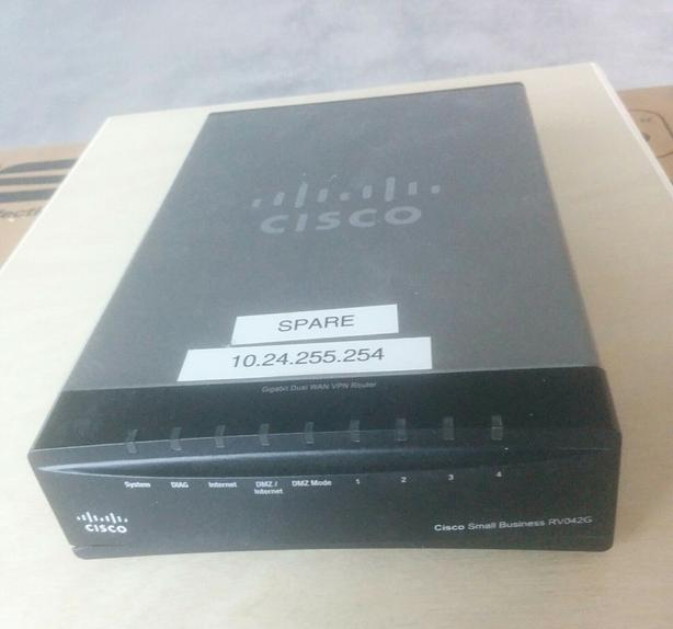 Cisco RV042G Dual Gigabit WAN VPN Router Victoria City, Victoria