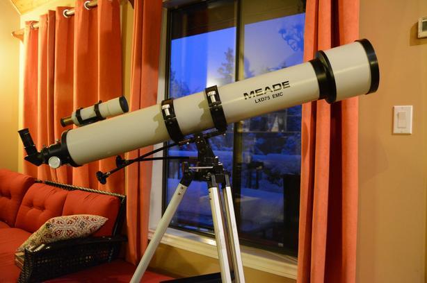 """Meade 5"""" refractor LXD75 telescope"""
