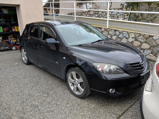 2004 Mazda 3 Axela FOR PARTS OR TO FIX UP