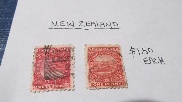RARE NEW ZEALAND STAMPS