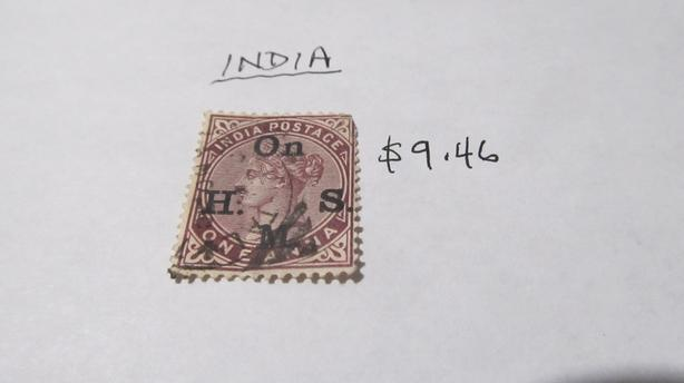 RARE VALUABLE INDIA STAMPS