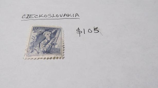 RARE VALUABLE CZECHOSLOVAKIA STAMPS